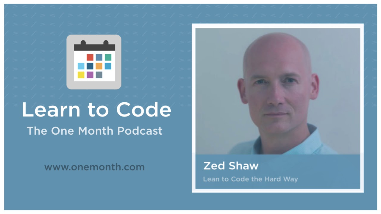 Learn Code the Hard Way with Zed Shaw - Learn to code in 30 Days