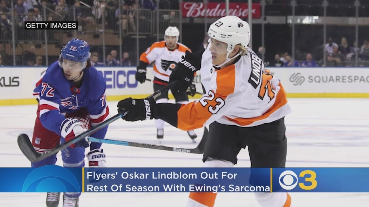 Flyers' Oskar Lindblom Diagnosed With Ewing's Sarcoma