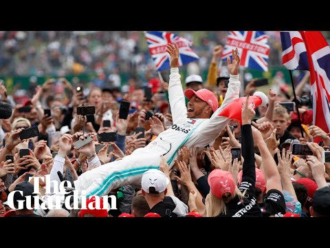 Lewis Hamilton wins a record sixth British Grand Prix