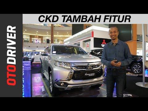 Mitsubishi Pajero Sport Exceed 4x2 CKD 2018   First Impression  Indonesia   OtoDriver
