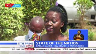 Covid-19 Billions: Martha Karua has called on the govt to fully disclose all covid 19 funds