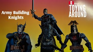 How to Army Build Marvel Legends Black Knights