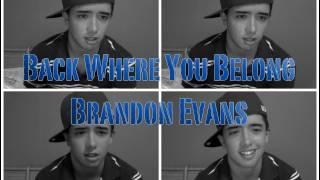 "Brandon Evans Debut Album - ""Back Where You Belong"" (Prod. by Bdert)"