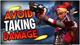 How To AVOID TAKING DAMAGE in Apex Legends! (4 Tips to Dodge Bullets)