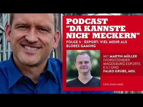 Podcast - Folge 5 - eSport: Mehr als blo�es Gaming?! (mit Martin Müller)
