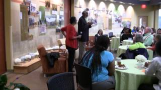 bell hooks and john a. powell dinner discussion