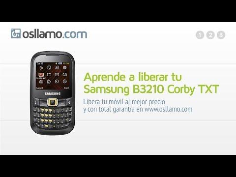 Liberar tu Samsung B3210 Corby TXT