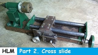 Homemade lathe part 2