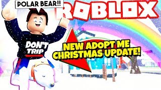 *FREE!* NEW CHRISTMAS PETS UPDATE in Adopt Me! NEW Adopt Me Christmas Update 2019 (Roblox)