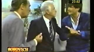 EL CONTRA CON GERARDO SOFOVICH Y JUAN C. CALABRO CON CARLIN CALVO 1983 PART 2