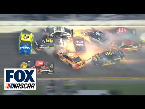 All of the crashes from the 2019 Daytona 500 | 2019 DAYTONA 500