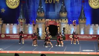 FAME Flawless Level 5 Restricted UCA International All Star Cheer Competition 2014