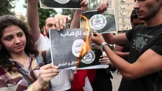 [HOT NEWS] Islamic people around the world burn ISIS flag - Sept 11, 2014