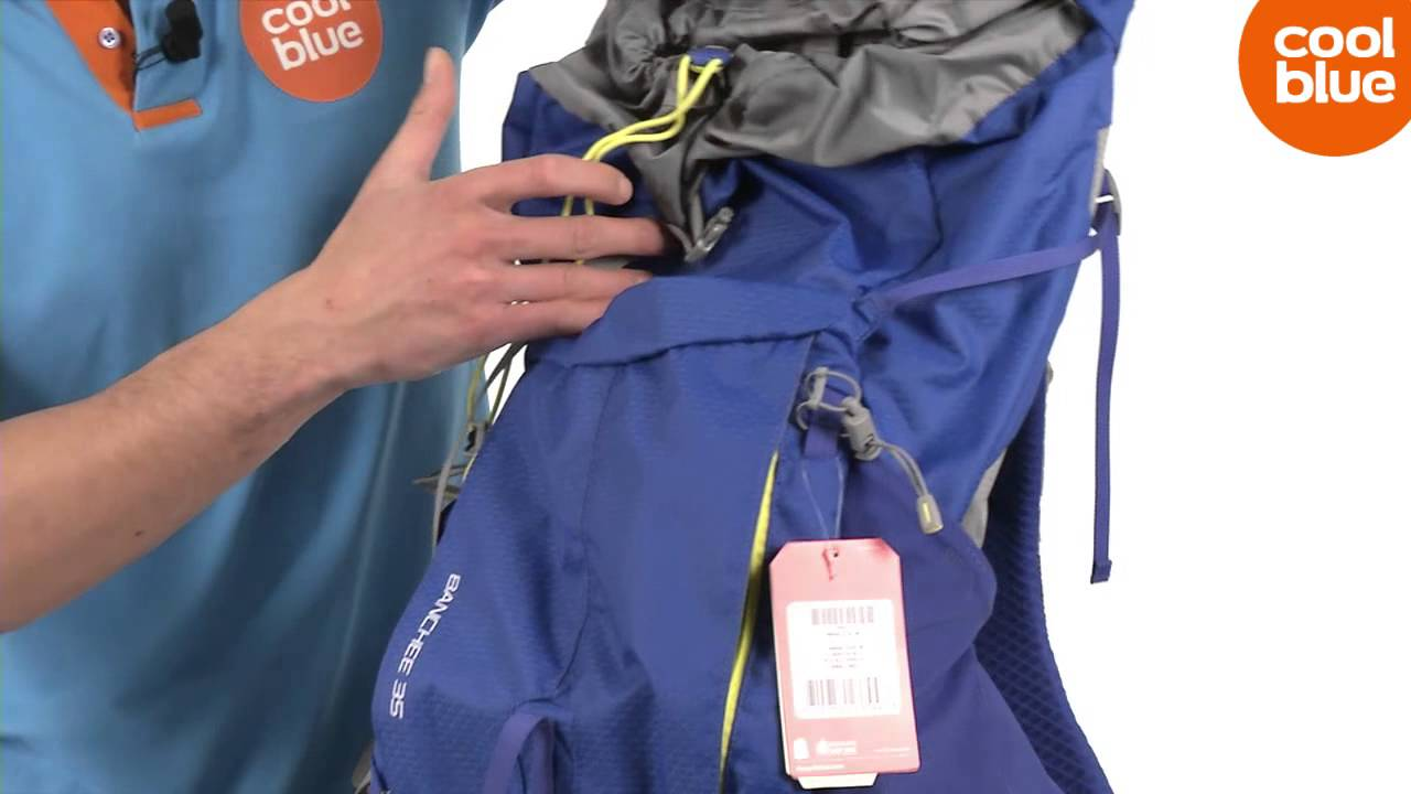 The North Face Banchee 35L rugzak productvideo (NL BE) - YouTube 035f05a5c533
