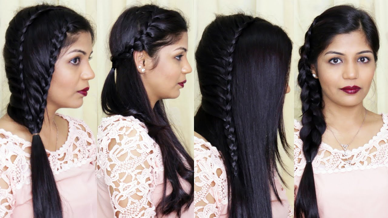 Indian hairstyles for girls with medium hair-6295