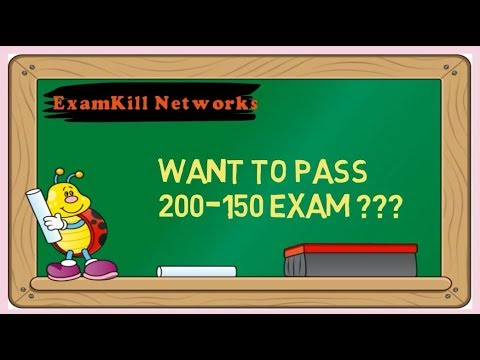 Free Demo Offer of 200-150 Exam Dumps 2018