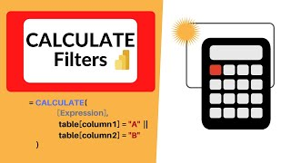 How to Specify Multiple Filter Conditions in CALCULATE [Power BI]