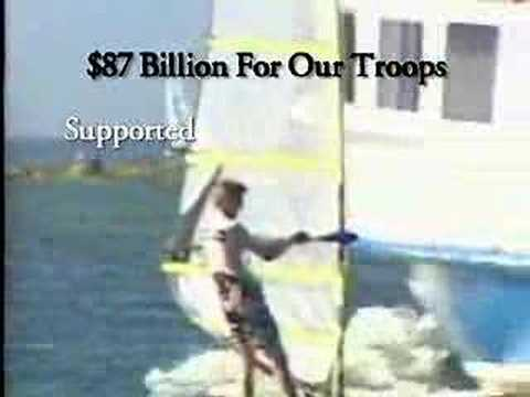 Historical Campaign Ad: Windsurfing (Bush-Cheney '04)