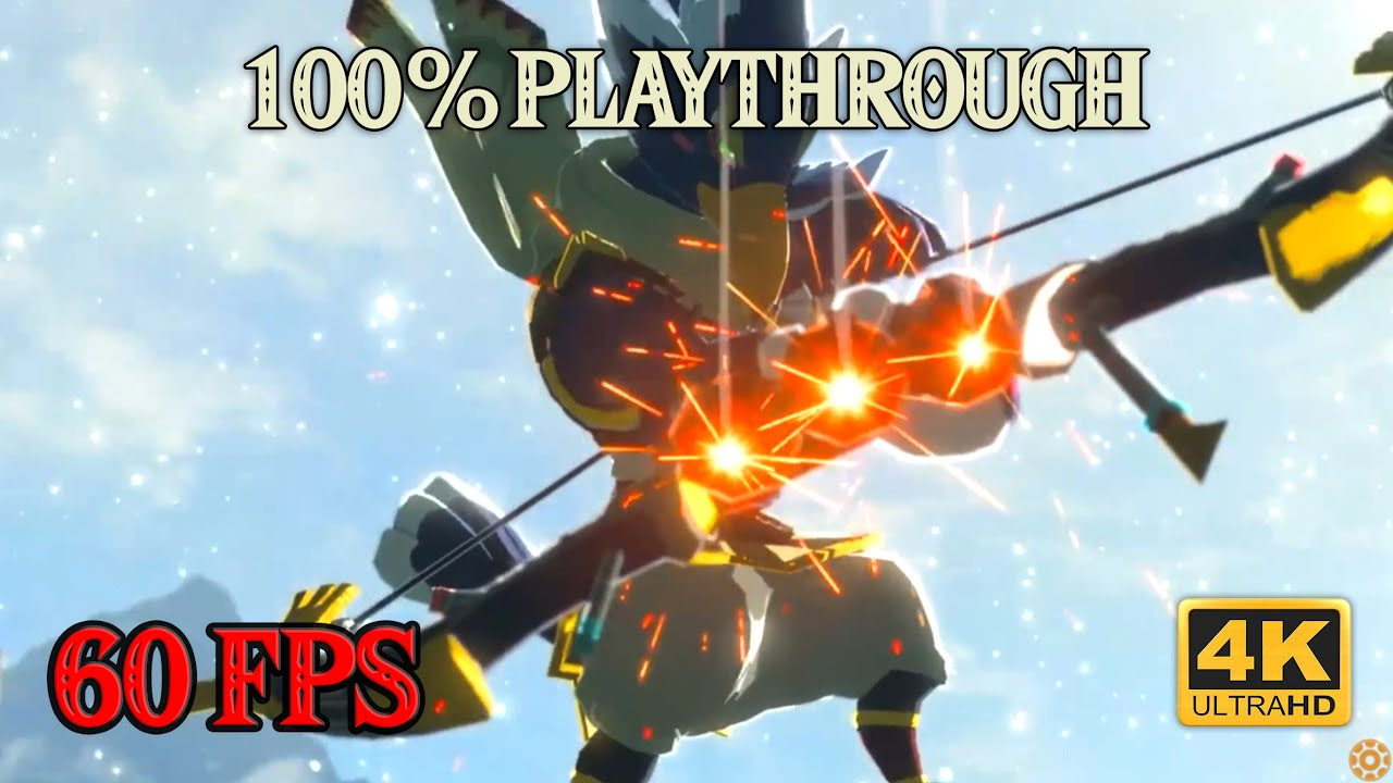 Zelda Breath of the Wild - 100% Playthrough [4K 60FPS CEMU] Part 21 ~ Big Flex Ravioli
