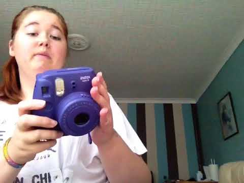 Showing you my fiji film instax min 8 camera and accsesaries