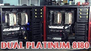 Xém khủng, ws 3,2 tỷ | 2 x Dual Intel Platinum 8180 2.5Ghz 28core 56thread