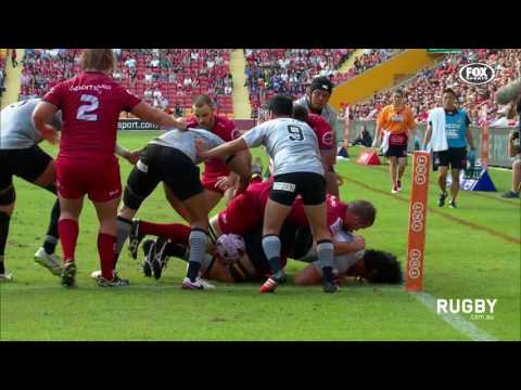 Reds close out entertaining Sunwolves