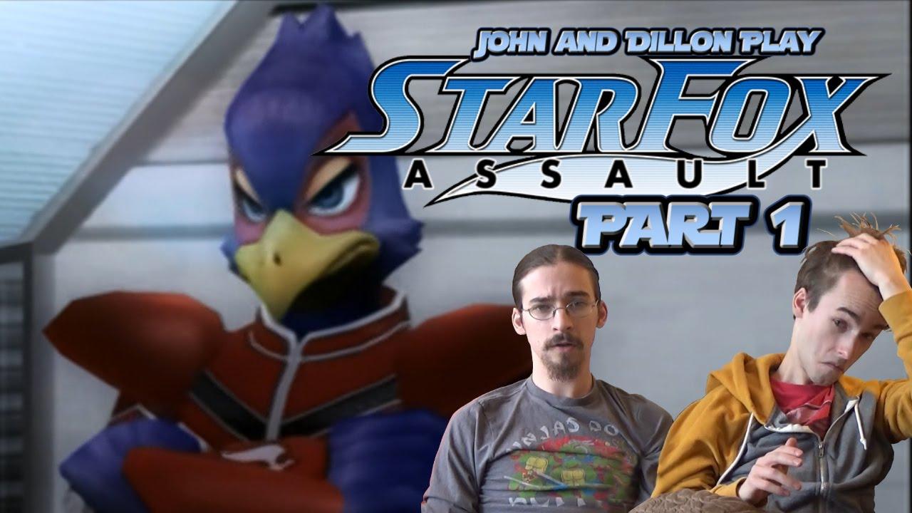Star Fox Assault - Part 1 - Feeling Sticky - YouTube