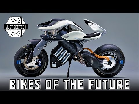 Top 5 Future Motorcycles Straight from a Sci-Fi Movie (Electric Bikes of Tomorrow)