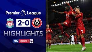 Mane & Salah goals restore Liverpool's 13 point lead | Liverpool 2-0 Sheff Utd | EPL Highlights