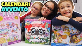 CALENDARI AVVENTO Hatchimals, Paw Patrol e Pinypon: Unboxing GBR
