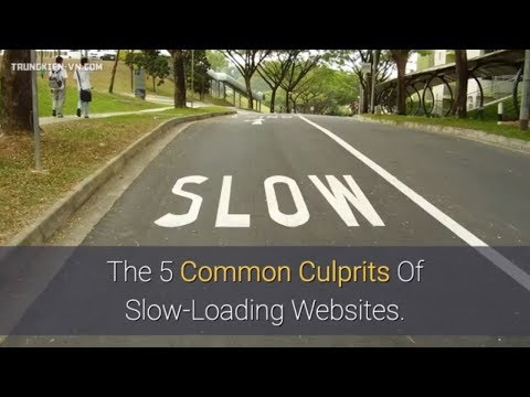 The 5 Common Culprits Of Slow-Loading Websites.