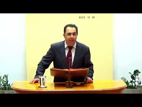 17.11.2019 - Μιχαίας Κεφ 2 (εδ 8-10)&Πράξεις Κεφ 3 (εδ 1-16) -Τάσος Ορφανουδάκης