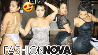 Fashion Nova try on haul 😍