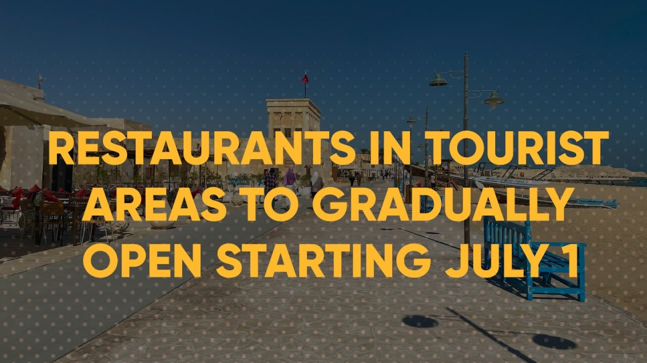 Restaurants in several tourist areas can resume their operations from July 1