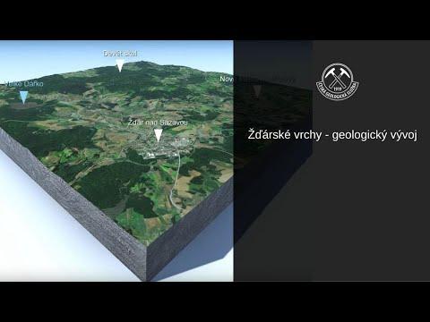 Žďárské vrchy - geologický vývoj