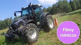Jeździliście traktorem po górach? Naprawdę stromo 4 min 15 s. Lindner Lintrac 90