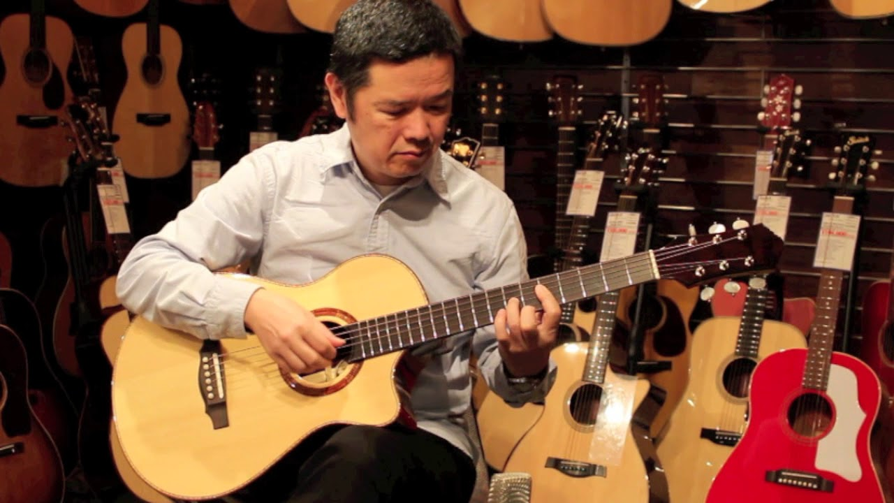 Keystone (西 恵介) Jujube with Cutaway Madagascar Rosewood Demo - Player 古川忠義