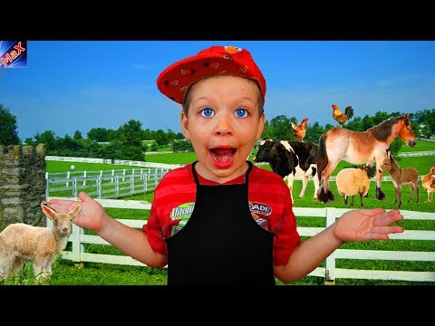 Old MacDonald Had a Farm   Funny Baby Nursery Rhymes & Animals Song for Kids
