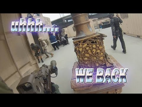 WE BACK! Team Reaper Actual Hollywood Sports Airsoft Gameplay