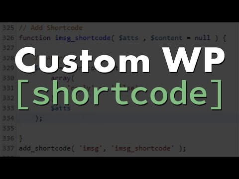 WordPress Shortcode Tutorial: How to Create Custom WP Shortcode with PHP/HTML/CSS