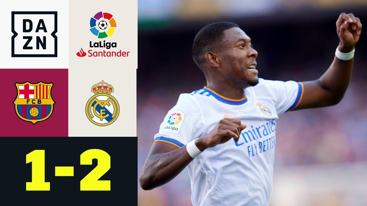 Alaba-Knaller & spätes Drama! Real siegt im Clasico: FC Barcelona - Real Madrid 1:2   LaLiga   DAZN