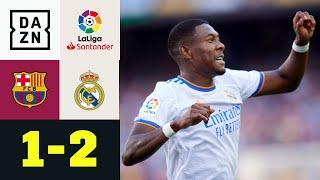 Alaba-Knaller & spätes Drama! Real siegt im Clasico: FC Barcelona - Real Madrid 1:2 | LaLiga | DAZN