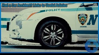 Had a Car Accident? Links to Useful Articles