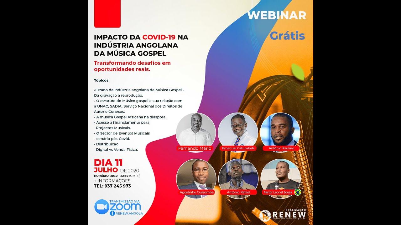 Webinar Impacto Da Covid 19 Na Industria Angolana Da