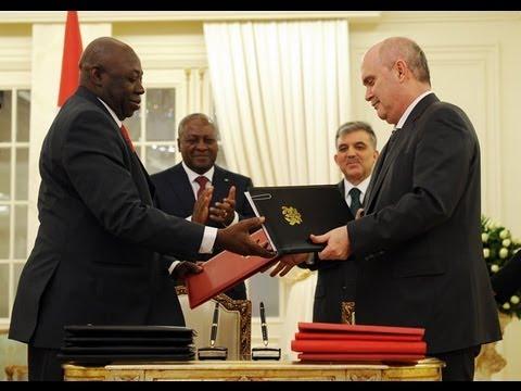 Türkiye ile Gana arasında İmzalanan Anlaşmalar-22.01.2013
