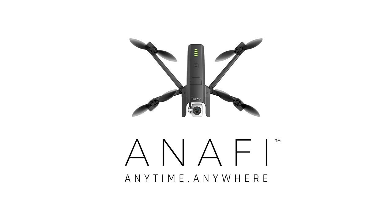 Parrot Anafi drone is a 4K HDR flying camera - SlashGear
