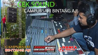 Cek Sound AMBARWANGI AUDIO MANUAL TECH VS CAMPURSARI BINTANG AJI
