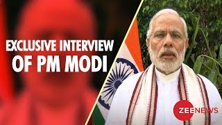 Watch exclusive interview of Prime Minister Narendra Modi