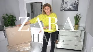 HUGE Spring Zara Unboxing Try-On Haul | March 2018