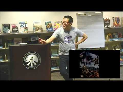 Gene Ha, Comic Writer & Artist, Shares His Creative Process | Graphic Novel Symposium